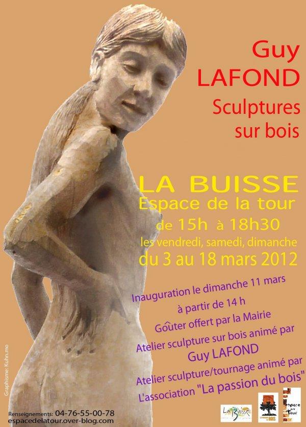 Exposition à «L'espace de la Tour» – La Buisse (38) du 3 au 18 mars 2012